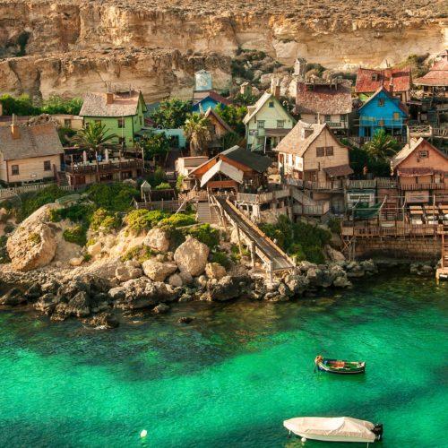 wioska popeya, malta, wyjazd integracyjny