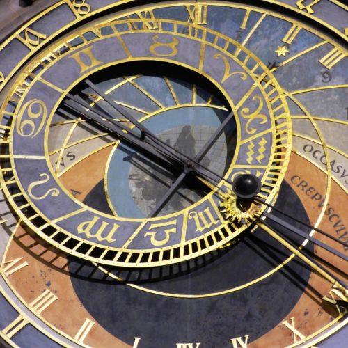 praga, zegar, integracja